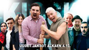 Kioski Show'n ensimmäisessä jaksossa vieraaksi saapuu Antti Tuisku.