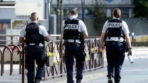 Ranskan poliisi suoritti terrorismin vastaisen operaation Villejuifin kylässä syyskuun alkupuolella.