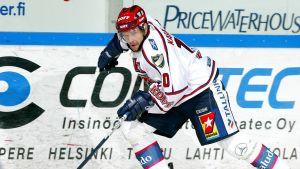 Jere Karalahti HIFK-paidassa vuonna 2005.