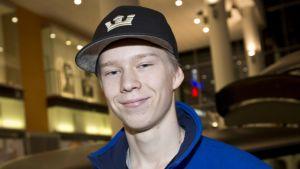 Kalle Rovanperä kuvassa