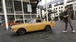 Arkkitehti Jimmy Briers pisti vuosimallin 1971 Volvonsa myyntiin, koska Antwerpenin päästörajoitukset tekivät vanhan auton pitämisestä liian kallista.