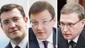 Gleb Nikitin, Dmitri Azarov ja  Aleksandr Burkov