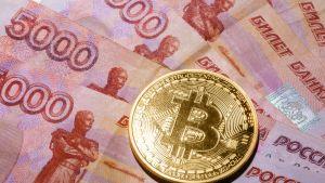 Venäjä rupla bitcoin.