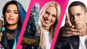 Tällä viikolla puhuttivat muun muassa Sanni, Anne Lainto ja Eminem.