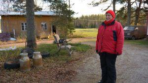 Heli Hakala ei ole harkinnut muuttoa pois Kurikan Pohjoiskylältä.