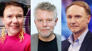 Rosa Liksom, Arne Dahl ja Dan Brown.