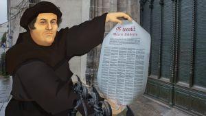 Luther seikkailee nykyajassa.