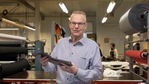 Teema Line Oy:n toimitusjohtaja Kurt Thune.