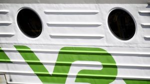 Vr:n logo junassa.