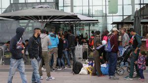 Ruotsi maahanmuuttajat.