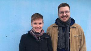 Katri Schadewitz ja Teemu Illikainen