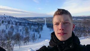 Atte Ikkala Norjan ja Suomen rajalla
