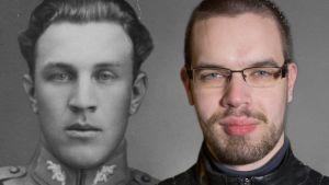 Arvi ja veljenpojanpoika Aleksi Ristimäki