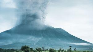 Agung -tulivuori Balilla 27 marrakuuta 2017.
