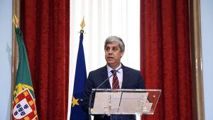 Euroryhmän uusi puheenjohtaja Mário Centeno.