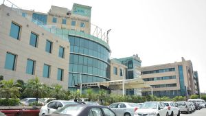 Max Hospital -sairaala Delhissä.