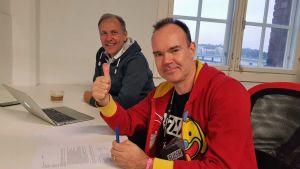 Timo Teimonen ja Peter Vesterbacka