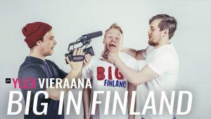 Mika Niva, Pietari Vihula ja Henric Chezek
