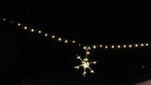 Valotähti valoketjussa