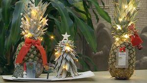 koristeltu ananas