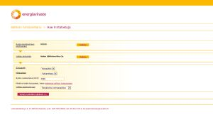 Näkymä sahkonhinta.fi -sivustolta