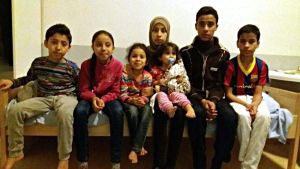 Irakisk familj