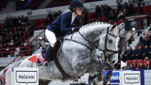 Horse show - lördag (svenskt referat)