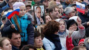 Erikoislähetys Venäjän presidentinvaaleista