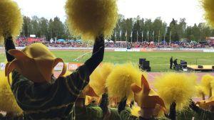 Stafettkarnevalen 2016 hejarklacks-, maskottävling och KAJ