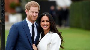 Prins Harrys och Meghan Markles bröllop (svenskt referat)