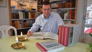 Fredrik Elgh, professor i virologi vid Umeå Universitet och överläkare vid Umeå Universitetssjukhus.