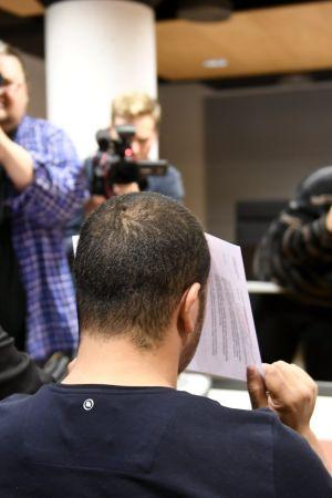 En av de gripna, 28-åringen, som häktades för misstanke om inblandning i Åbodådet.