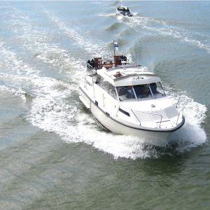 båt och karta