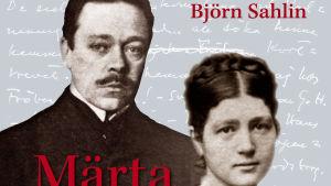 Pärmbilden till boken Märta och Hjalmar Söderberg En äktenskapskatastrof, författad av Johan Cullberg och Björn Sahlin.