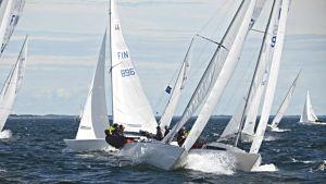 H-båtar i Hangö regatta 2016.