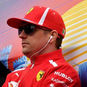 Lewis Hamilton, Kimi Räikkönen, Sebastian Vettel.
