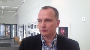Sven Jerkku, kretsordförande för SFP i Österbotten