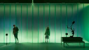 Foto från Den Andra Naturen på Teater Viirus.