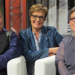 Janne Villman, Hilla Blomberg ja Anne Villman