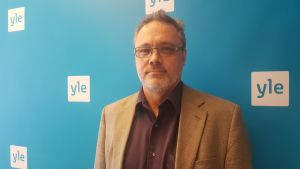 Terrorforskaren Mats Frilund från Aalto-universitetet.