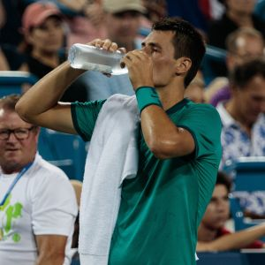 Tennisspelaren Bernard Tomic tar en paus i turnering strax före US Open.