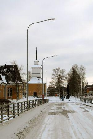 Kyrkobron i Nykarleby.