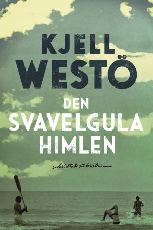 "Pärmen till Kjell Westös roman ""Den svavelgula himlen""."