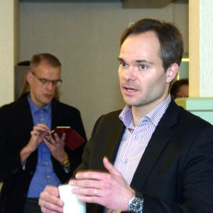 Porträttbild på Kai Mykkänen.