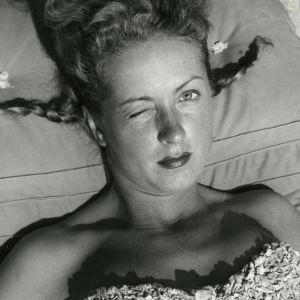 Jacques Henri Lartigue (1894-1986) Danielle Darrieux, Eden Roc, September 1941