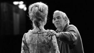 Ingmar Bergman och Stina Ekblad.