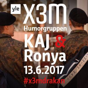 Puffbild för X3M live i Dragsvik 13.6.2017.