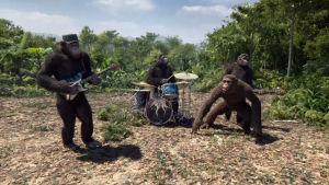 OBS Skärmdump från Coldplays video Adventure of a lifetime