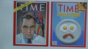 tidskriften Times pärm med forskaren Ancel Keys