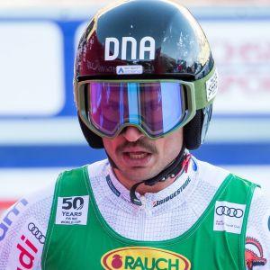 Marcus Sandell i Val D'Isere i december 2016.